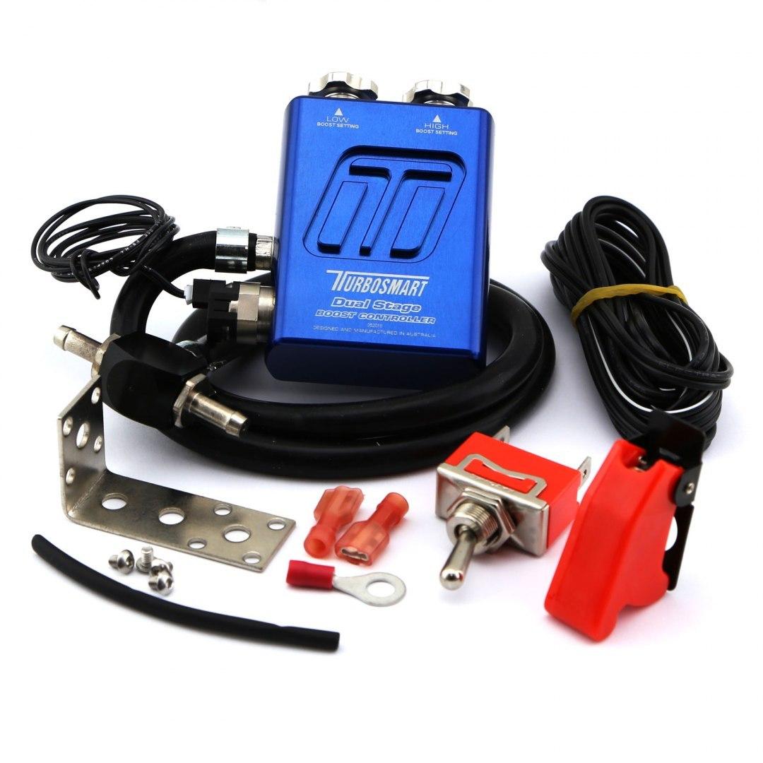 Turbosmart Manual Boost Controller Dual Stage V2 Blue - GRUBYGARAGE - Sklep Tuningowy